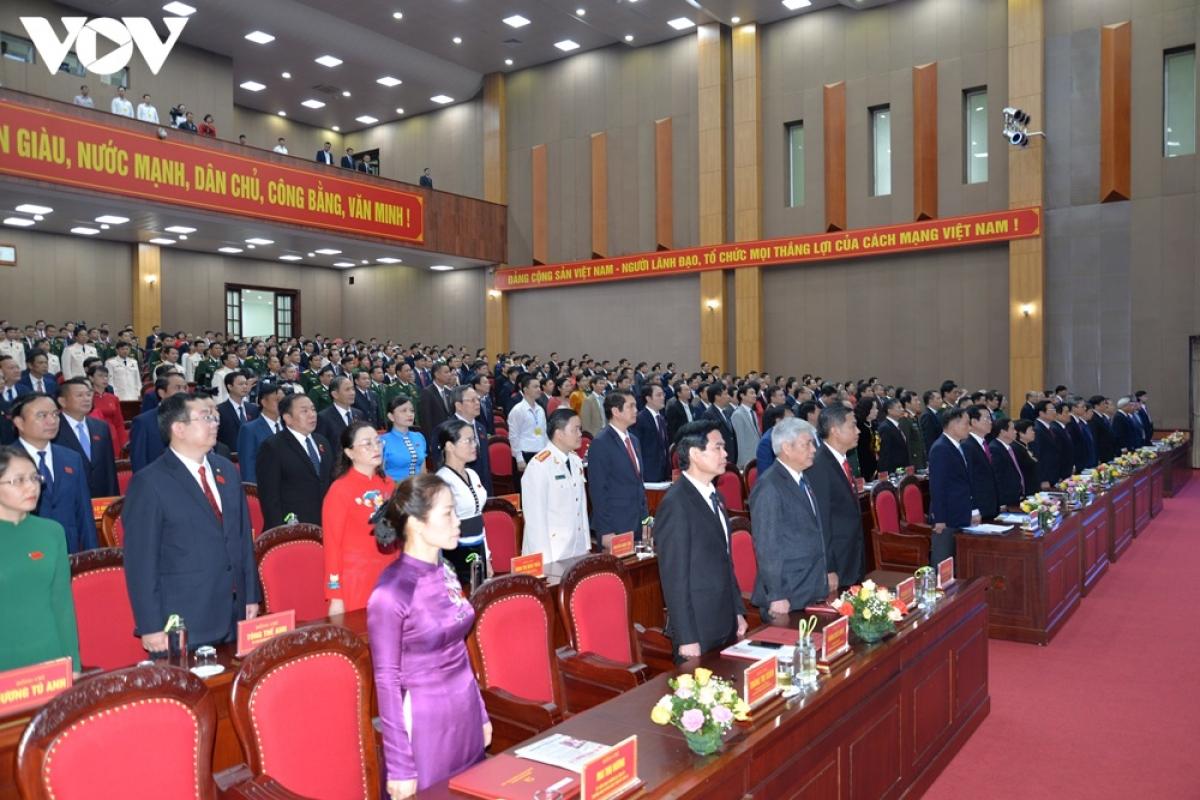 Các đại biểu tại Đại hội.