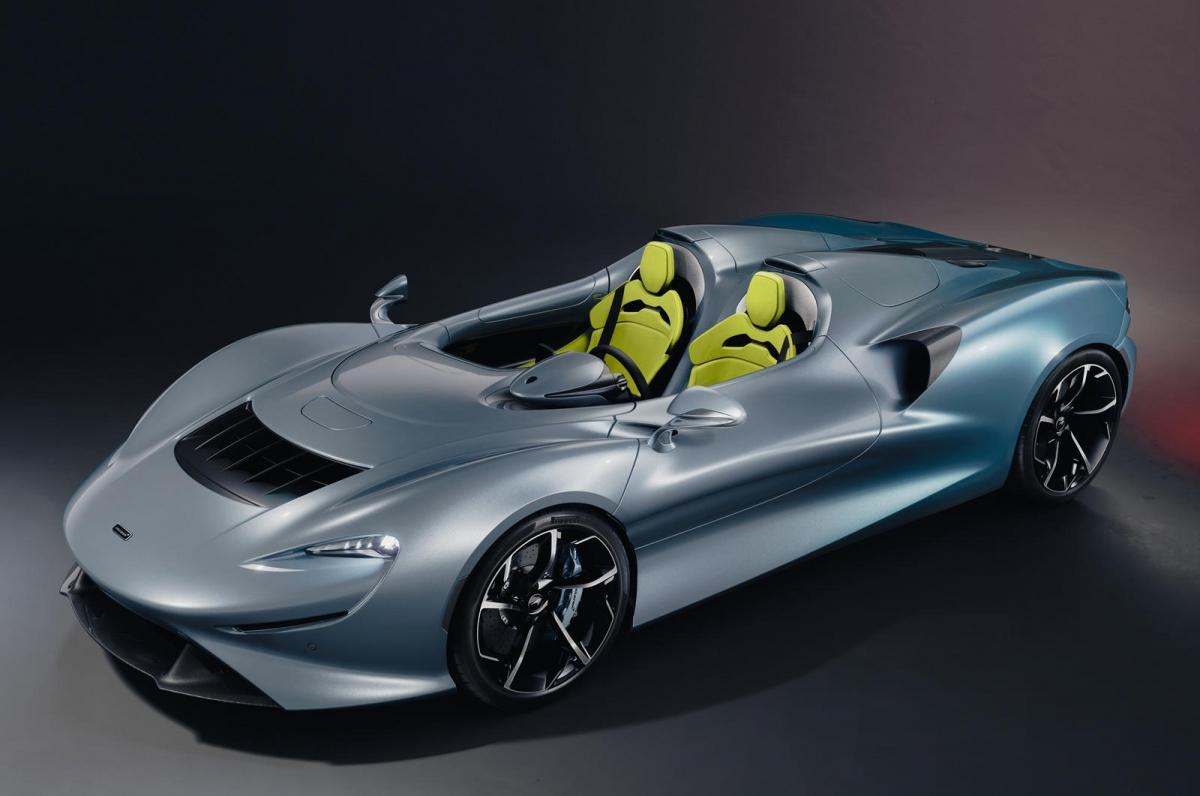 """... McLaren Advanced Visualiser được sử dụng trong lúc tạo cấu hình Elva để nâng cao hơn nữa khả năng thể hiện bề rộng của cá nhân hóa có sẵn""""."""