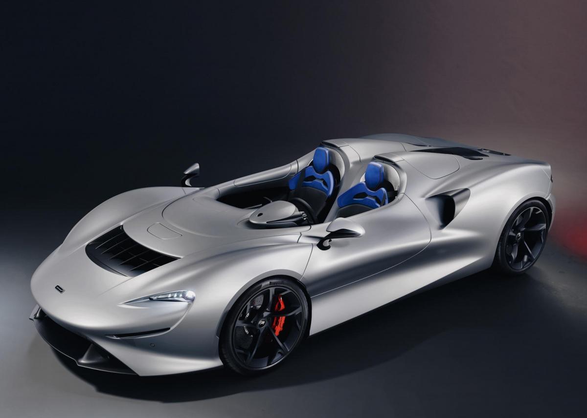 Trình hiển thị nâng cao của McLaren (MAV) sử dụng màn hình UHD để hiển thị từng hình ảnh của chi tiết cá nhân hóa trên chiếc Elva một cách rõ nét nhất.