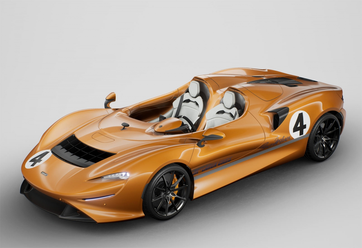 """Với mẫu Elva, chiếc speedster độc đáo của hãng siêu xe đến từ """"xứ sở sương mù"""" cũng không phải là ngoại lệ. Được sản xuất giới hạn chỉ 149 chiếc, McLaren từng tuyên bố từng chiếc Elva được bán ra sẽ là một chiếc xe độc nhất và không giống với những chiếc xe còn lại"""