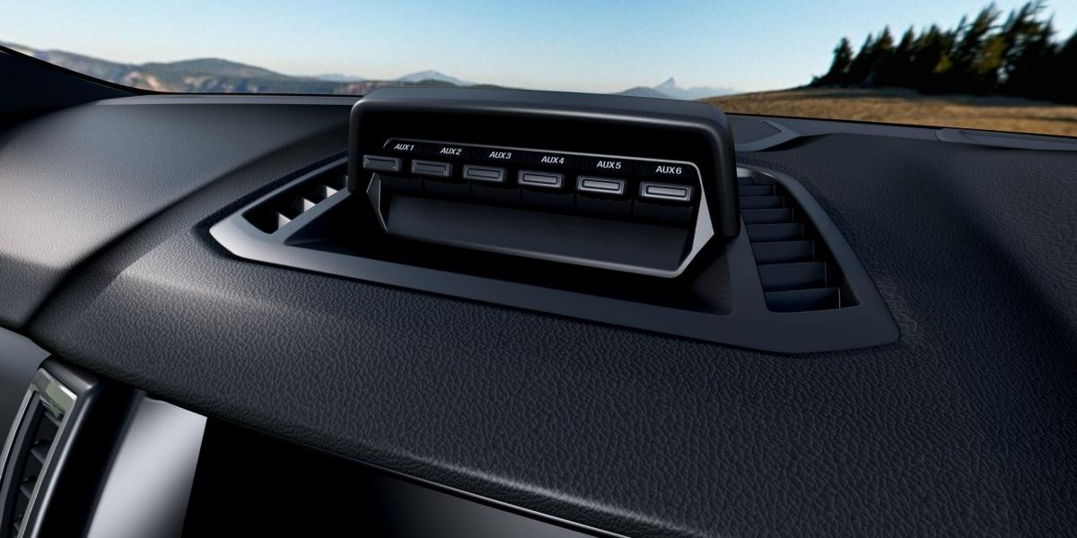 Động cơ được sử dụng cho mẫu RX4 MAX giống với Ranger Raptor, là động cơ diesel twin-turbo 2.0 lít công suất 210 mã lực và mô-men xoắn 500 Nm.