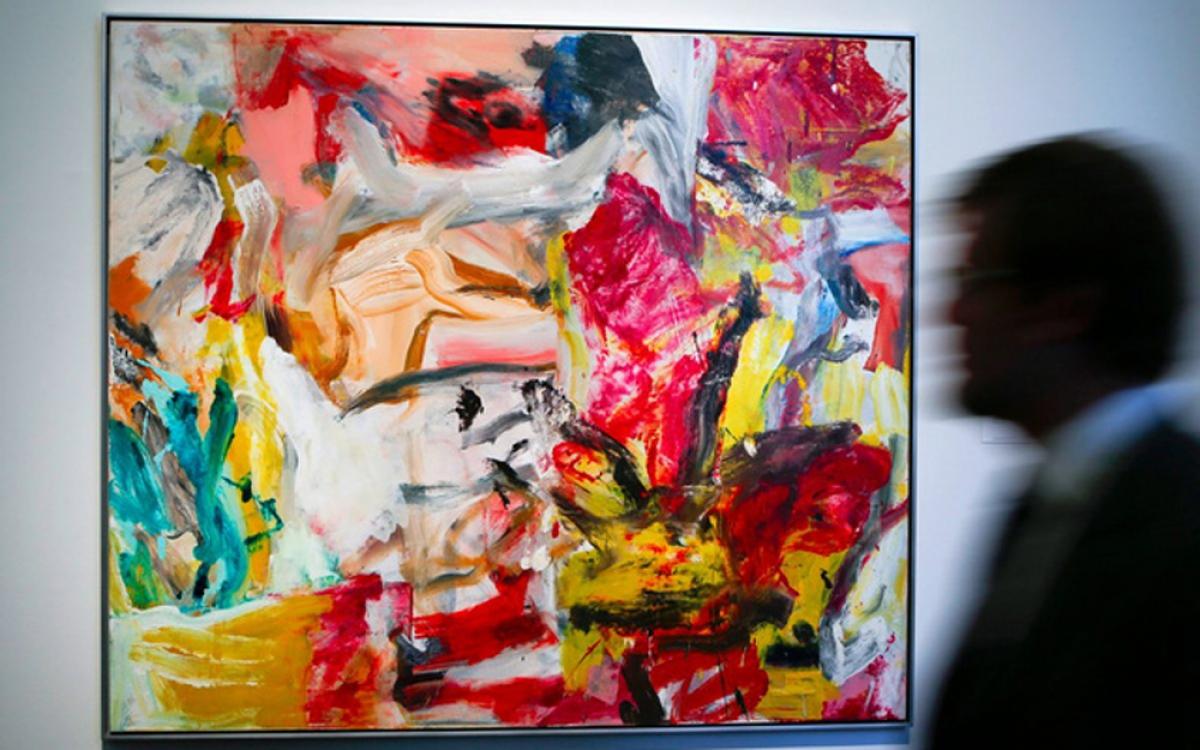 Giá các tác phẩm nghệ thuật đã tăng 226% trong 10 năm qua. Mua những bức tranh nổi tiếng là khoản đầu tư được nhiều người siêu giàu ưa thích. Dưới đây là Willem De Kooning, bức tranh đắt nhất từng được mua với giá 300 triệu USD năm 2015. (Ảnh: BI)