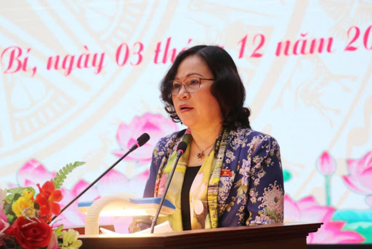 Bà Ngô Thị Minh - Tân Thứ trưởng Bộ Giáo dục và Đào tạo