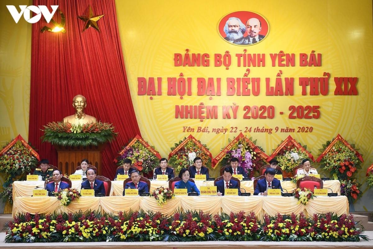 Đại hội Đảng bộ tỉnh Yên Bái lần thứ XX.