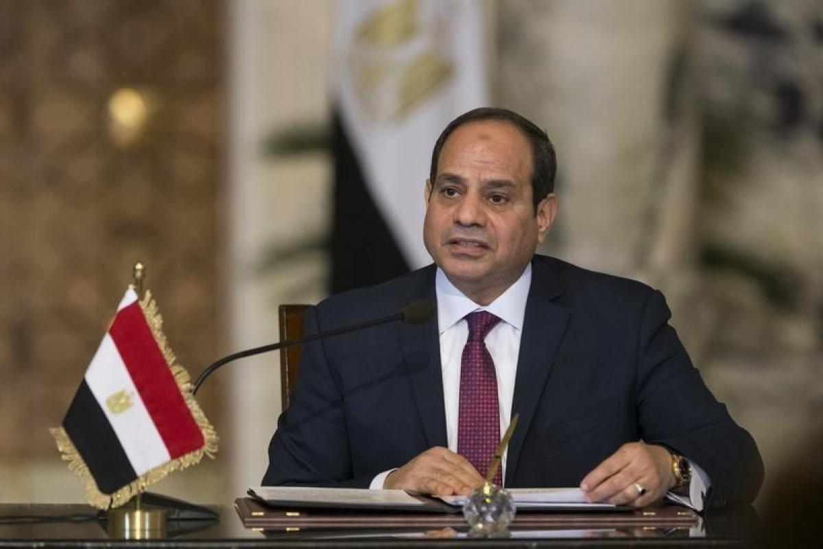 Tổng thống Ai Cập Abdel Fattah Al-Sisi. Ảnh: Reuters