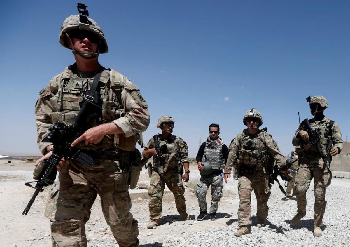 Quân đội Mỹ ở Afghanistan. Ảnh: Reuters