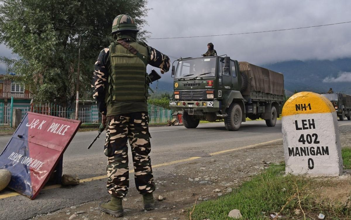 Khu vực biên giới giữa Ấn Độ và Trung Quốc. Ảnh: ANI.