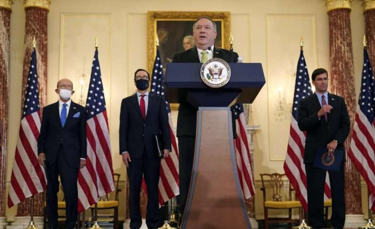 Ngoại trưởng Mỹ Mike Pompeo. Ảnh: Washington Examiner