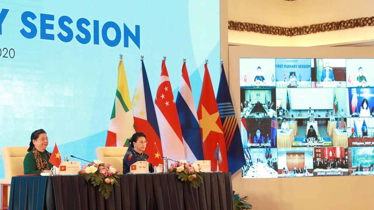 Đại hội đồng AIPA lần đầu diễn ra trực tuyến đã thể hiện dấu ấn của Việt Nam