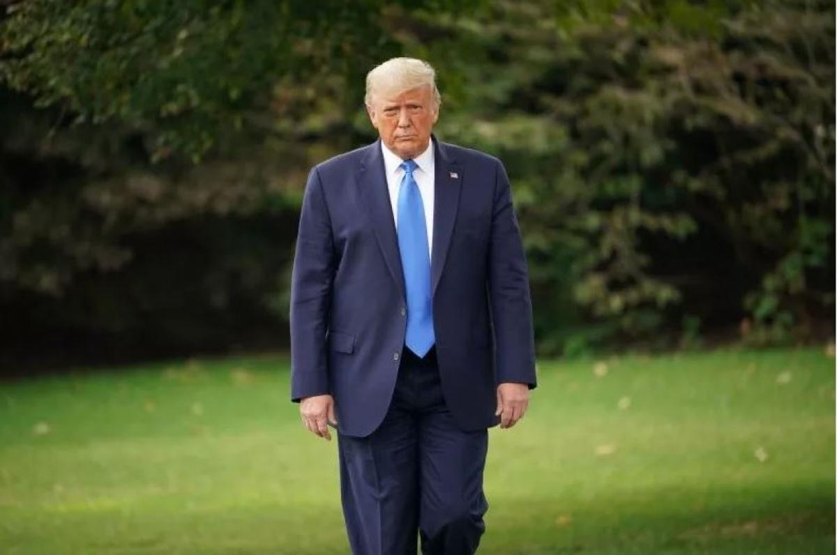 Tổng thống Trump. Ảnh: Getty