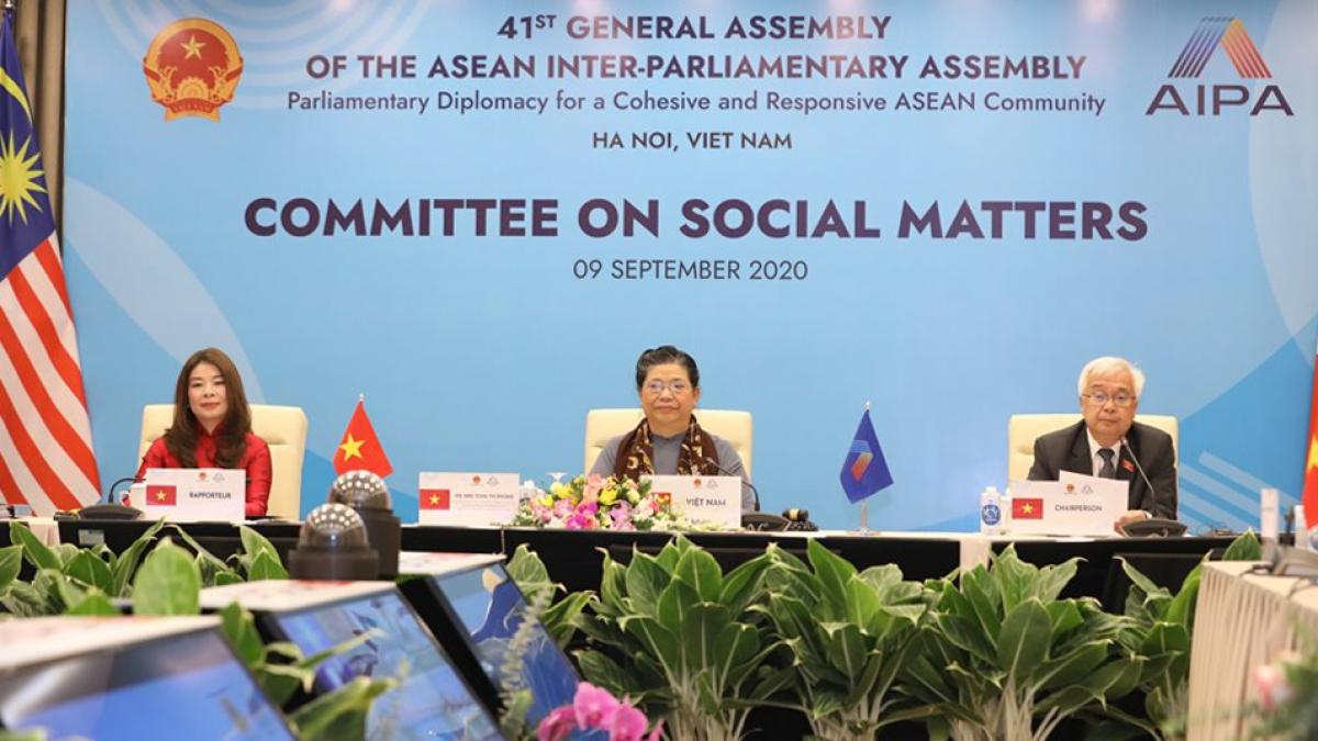 Hội nghị Ủy ban Xã hội AIPA 41