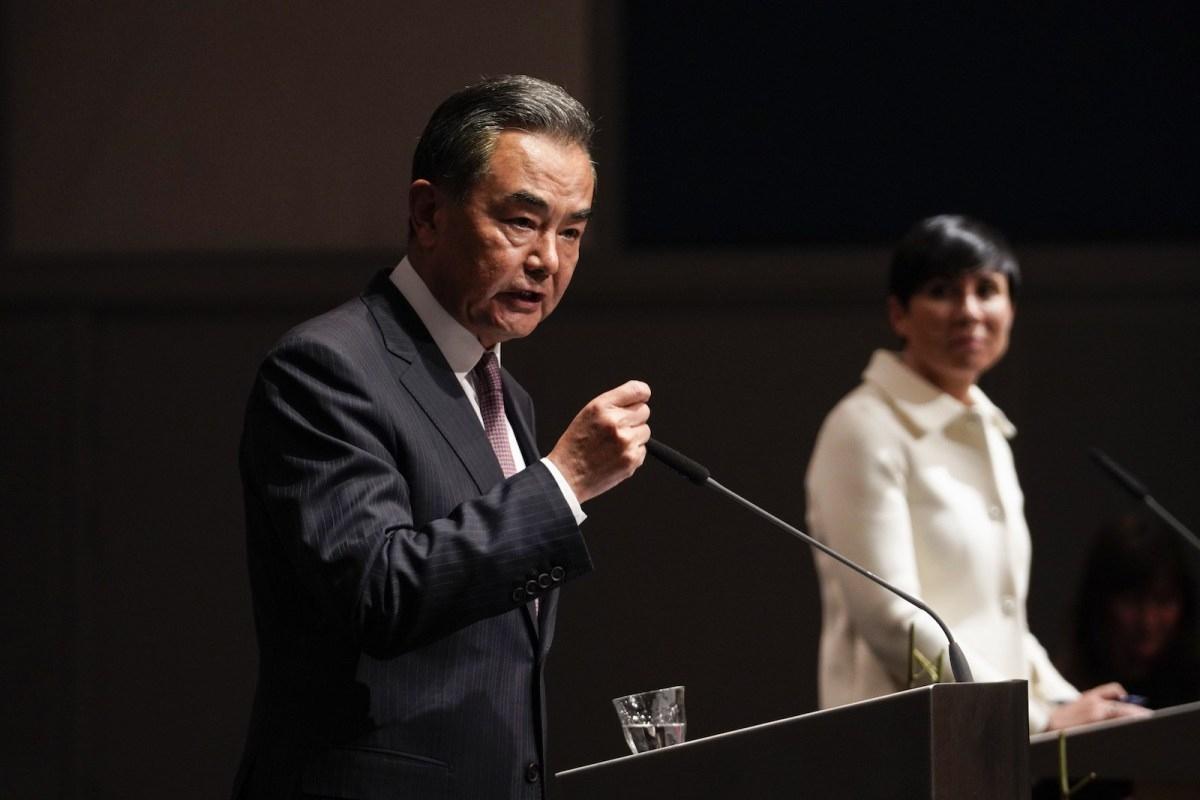 Ngoại trưởng Trung Quốc Vương Nghị. Ảnh: AFP