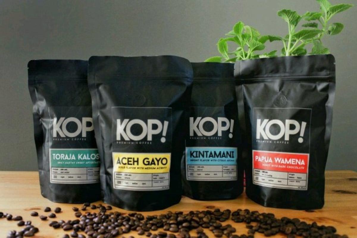 Các loại cà phê đặc sản của Indonesia. (Ảnh: IDN)