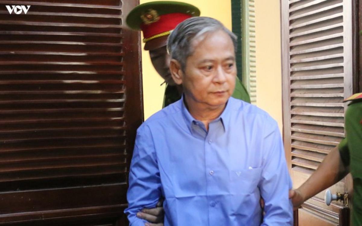 Bị can Nguyễn Hữu Tín