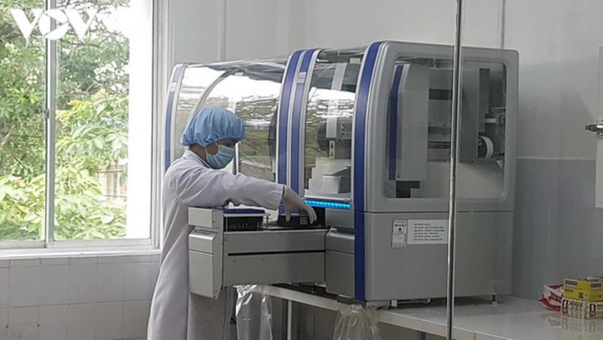 Một bộ máy xét nghiệm Realtime PCR dùng để xét nghiệm Covid-19.
