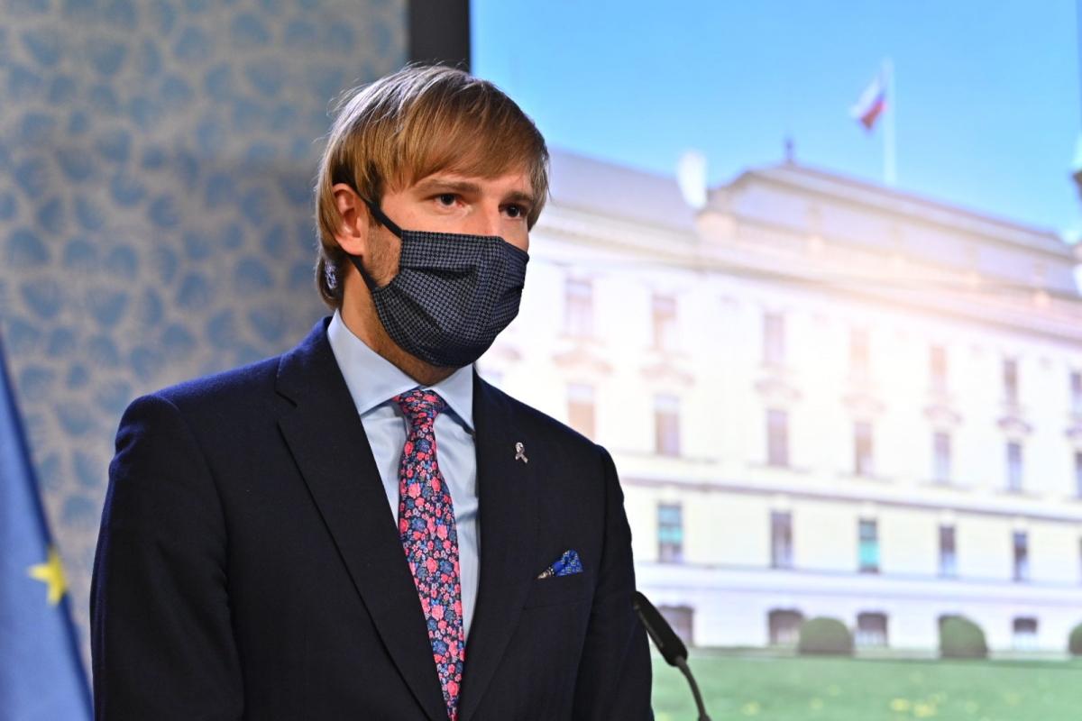 Bộ trưởng Y tế Séc Adam Vojtěch. Ảnh: Prague morning.