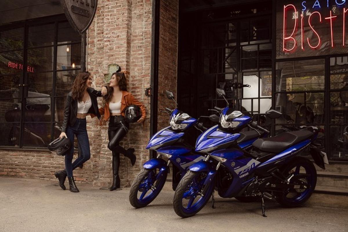 """""""Ông vua đường phố"""" Exciter luôn được ưa chuộng bởi thiết kế khỏe khoắnmang đậm DNA thể thao của Yamaha."""