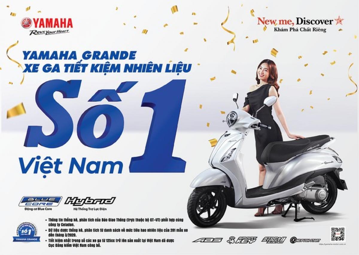 Động cơ Blue Core áp dụng trên các dòng xe tay ga hiện nay của Yamaha có mức tiêu thụ dao động từ 1,6 đến 1,8 lít xăng/100km.