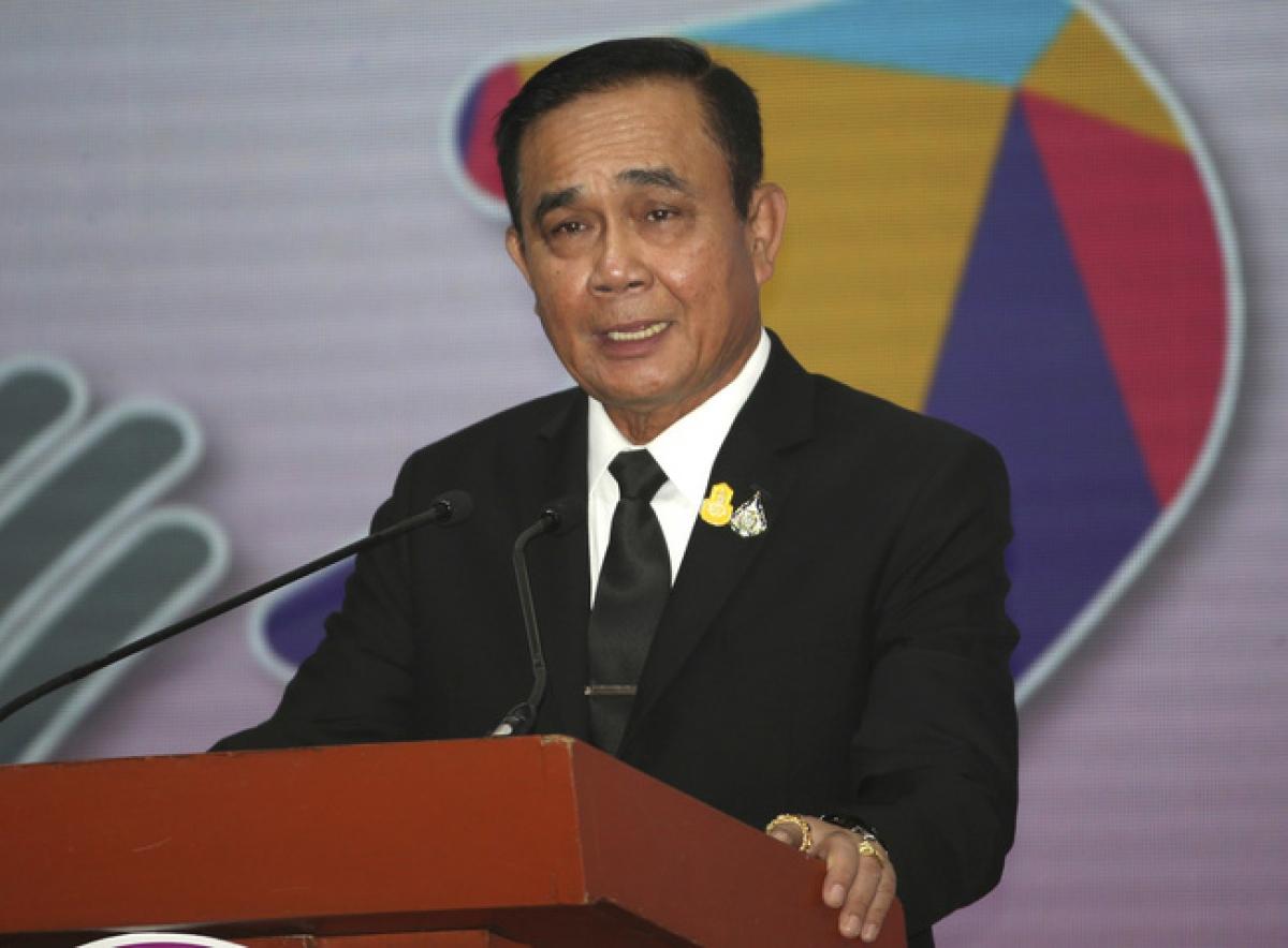 Thủ tướng Thái Lan Prayuth Chan-ocha. (Ảnh: AP)