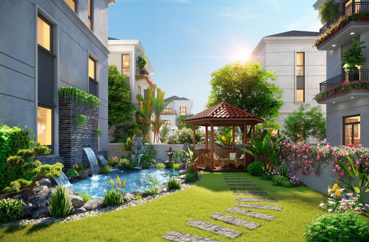 Nhà phố vườn thu hút người mua để ở lẫn đầu tư