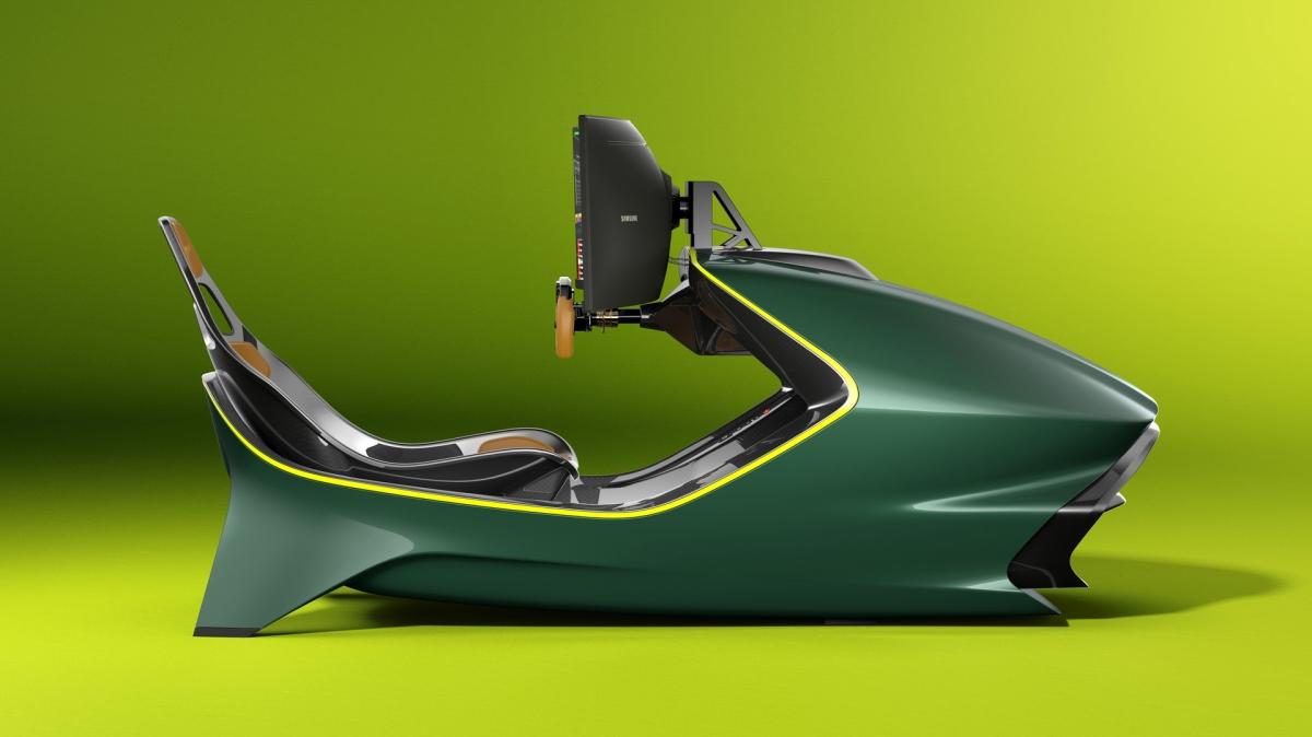 """""""Tôi có thể coi AMR-C01 là một trong những thiết kế đẹp mắt nhất từng được tạo ra và chính bản thân nó cũng đã là một kiệt tác"""" -Marek Reichman cho biết thêm."""