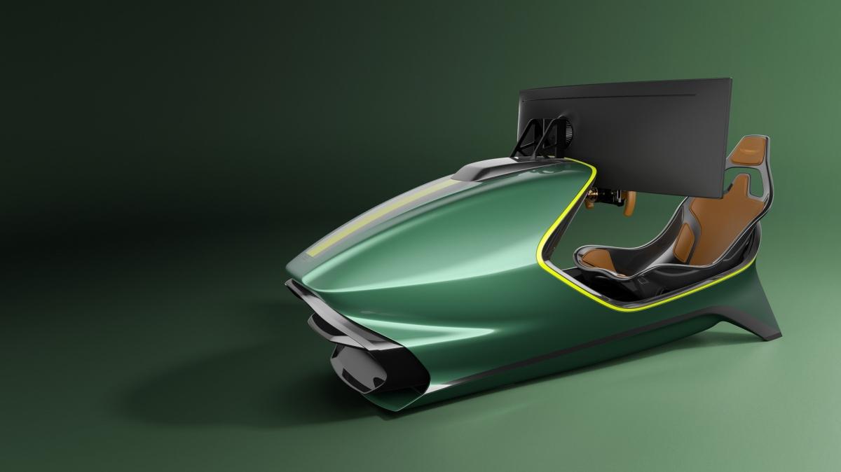 Ghế ngồi của bộ mô phỏng này được bố trí theo đúng vị trí ghế ngồi bên trong chiếc siêu xe Valkyrie.
