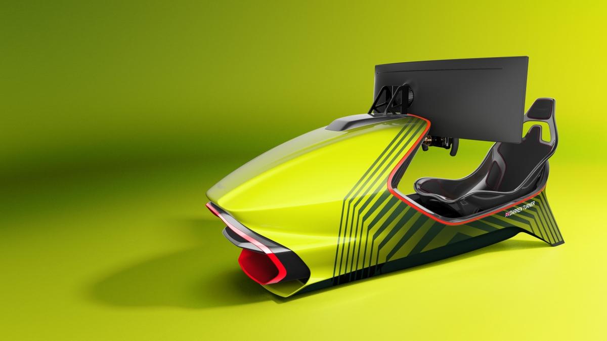 Máy mô phỏng AMR-C01 sở hữu thiết kế với trọng lượng nhẹ khi toàn bộ phần khung bên ngoài đều được làm bằng sợi carbon.