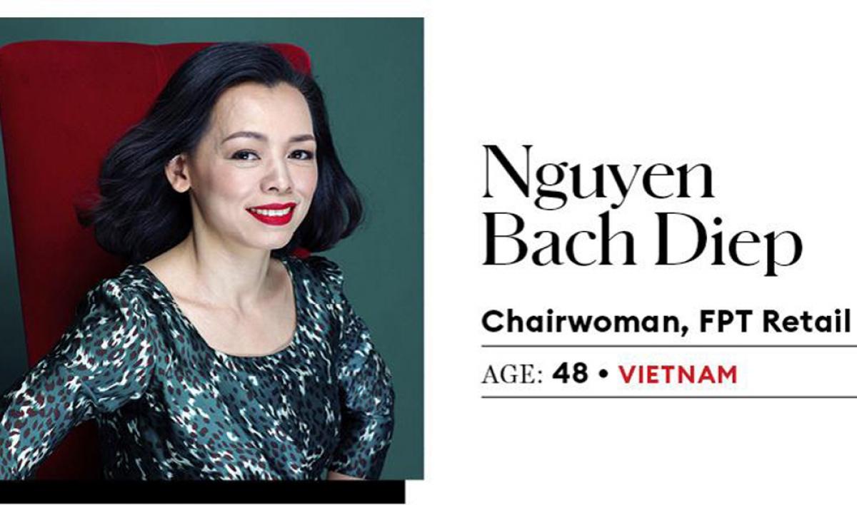 Bà Nguyễn Bạch Điệp – Chủ tịch FPT Retail