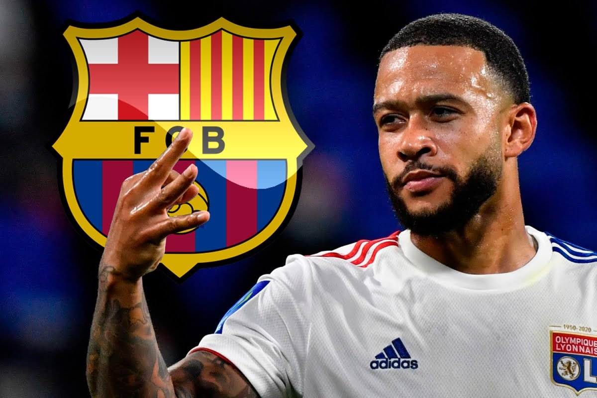 Barca đạt thỏa thuận chiêu mộ Memphis Depay. (Ảnh: The Sun)