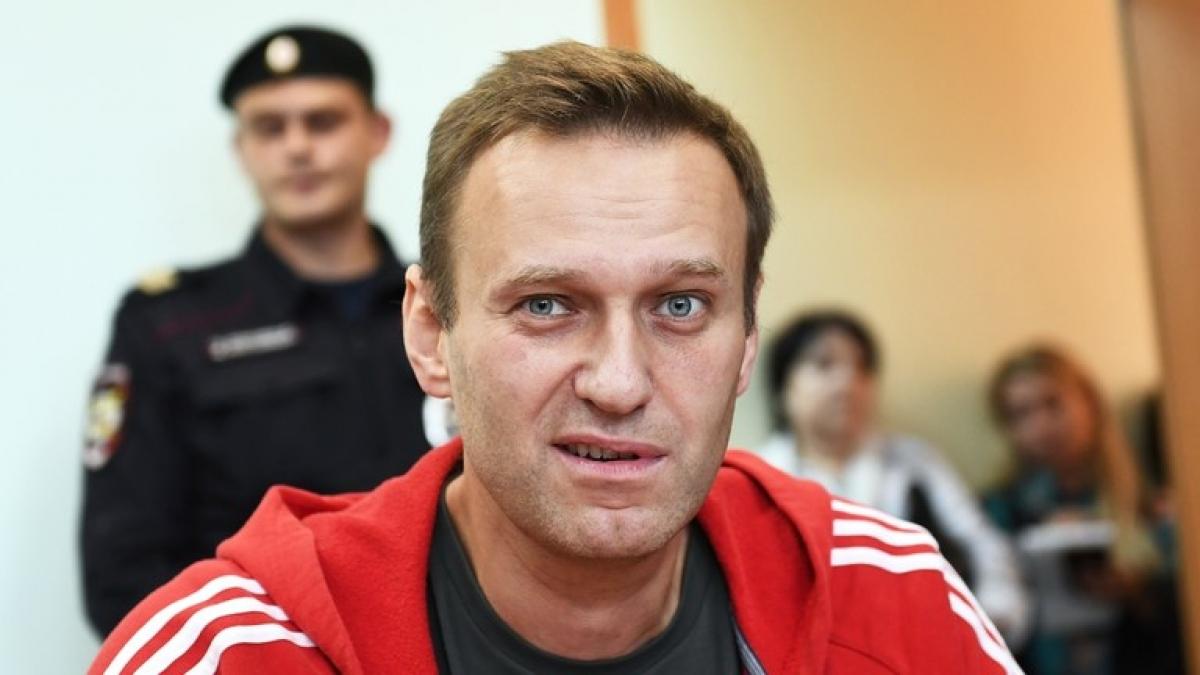 Chính trị gia đối lập Alexey Navalny. Ảnh: Sputnik.