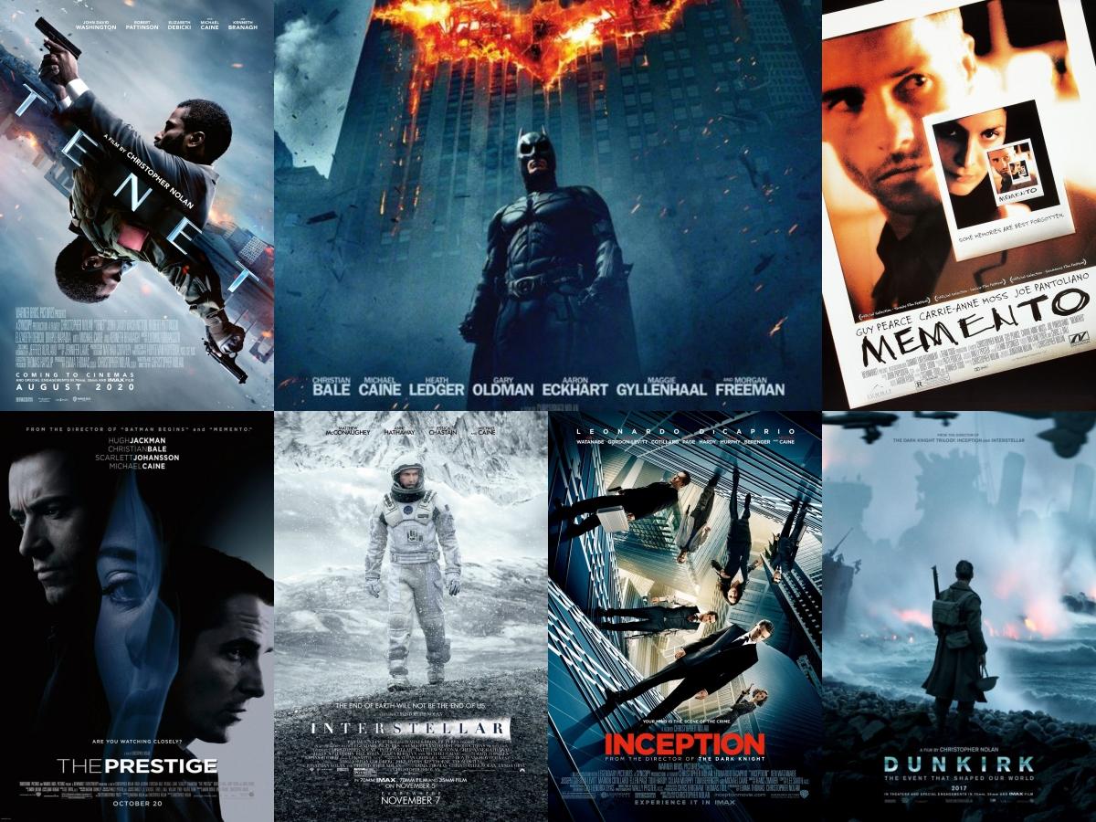 Loạt tác phẩm đình đám của Christopher Nolan.