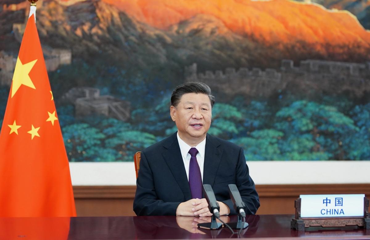 Chủ tịch Trung Quốc Tập Cận Bình. (Ảnh: Chinanews).