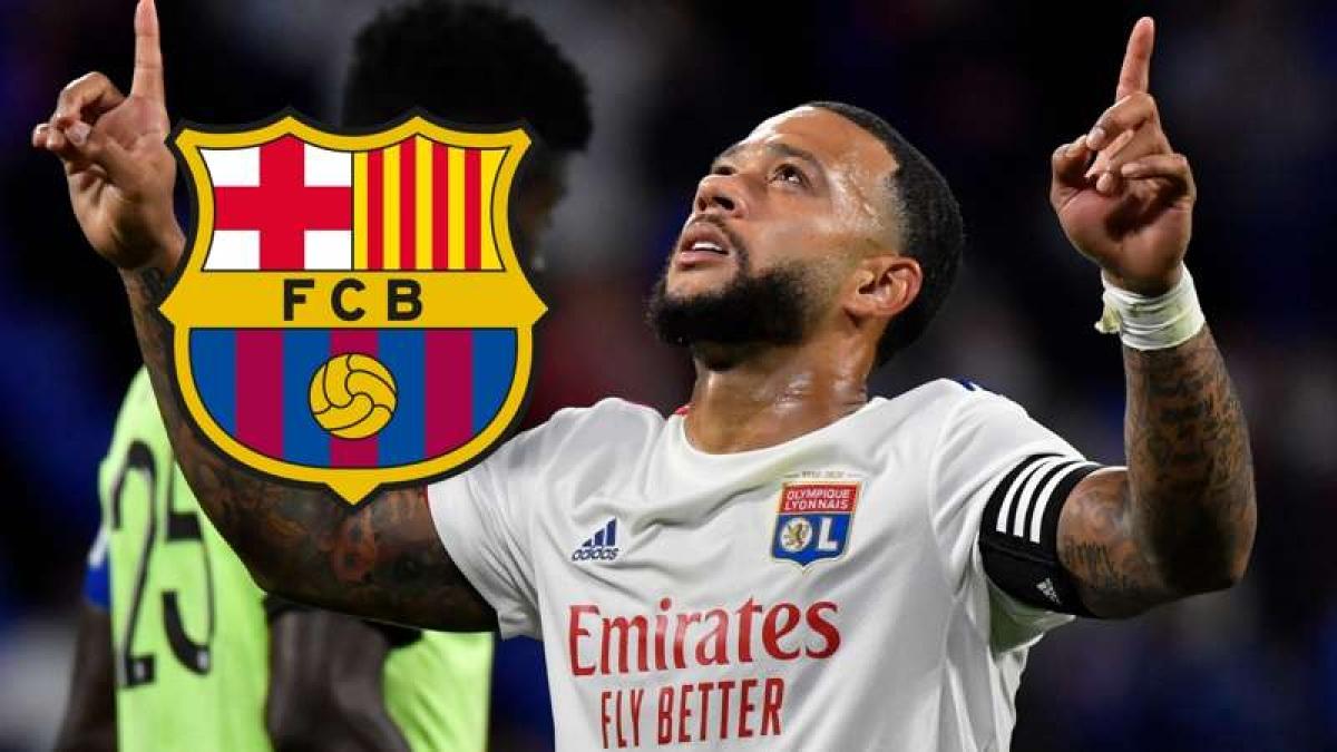 Barca đạt thỏa thuận mua Depay (Ảnh: Getty).