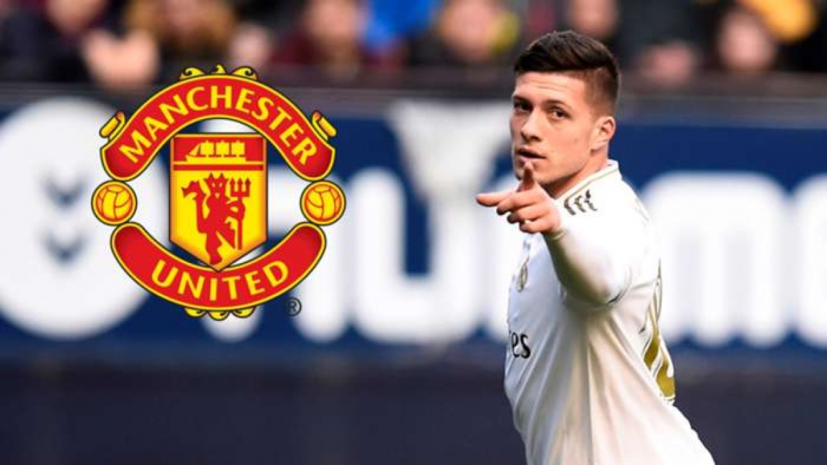 MU liên hệ mua tiền đạo Luka Jovic (Ảnh: Getty).