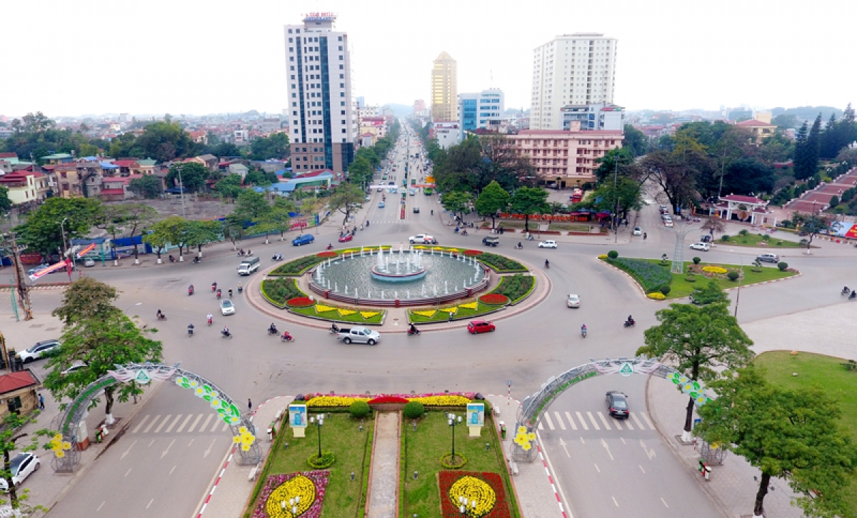 Thành phố Thái Nguyên (Ảnh: Báo Thái Nguyên)