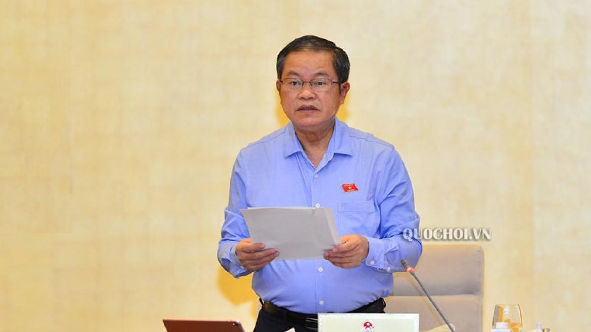 Phó Chủ tịch Quốc hội Đỗ Bá Tỵ