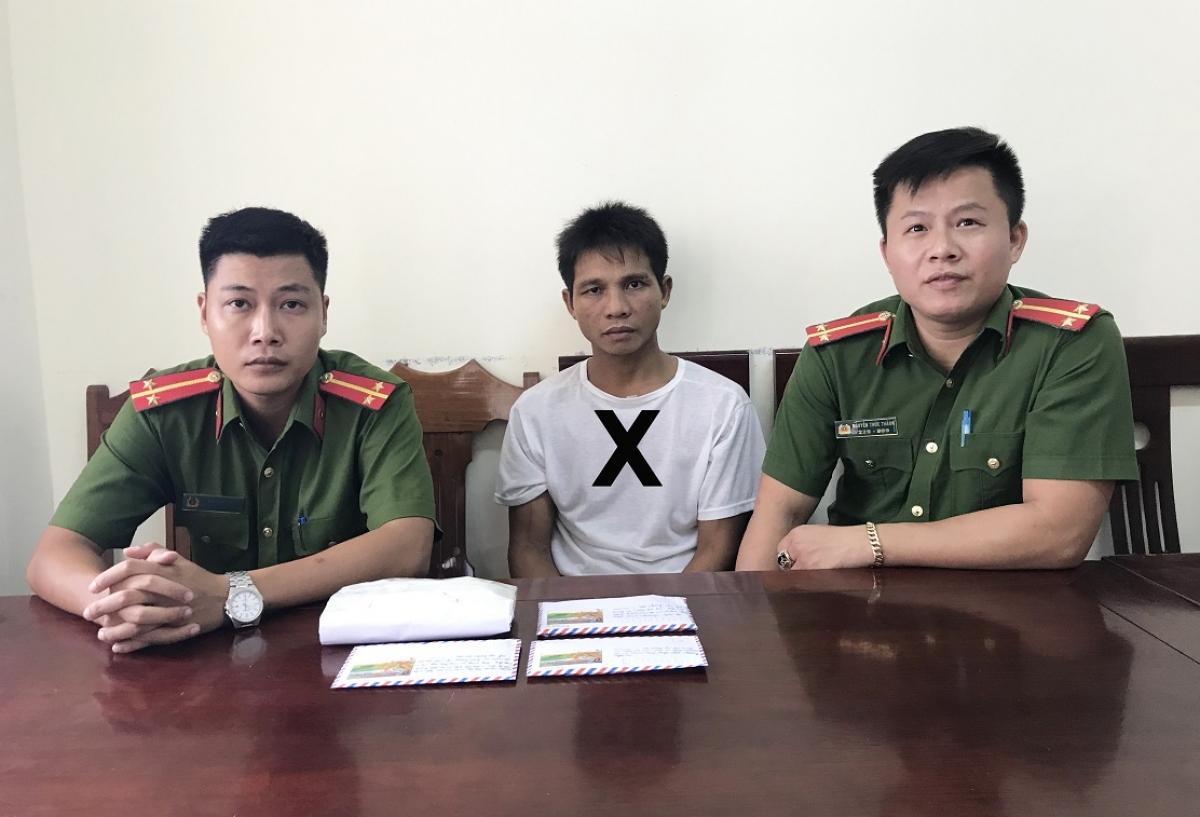 Chu Văn Sáng tại cơ quan điều tra (ảnh: CANA).