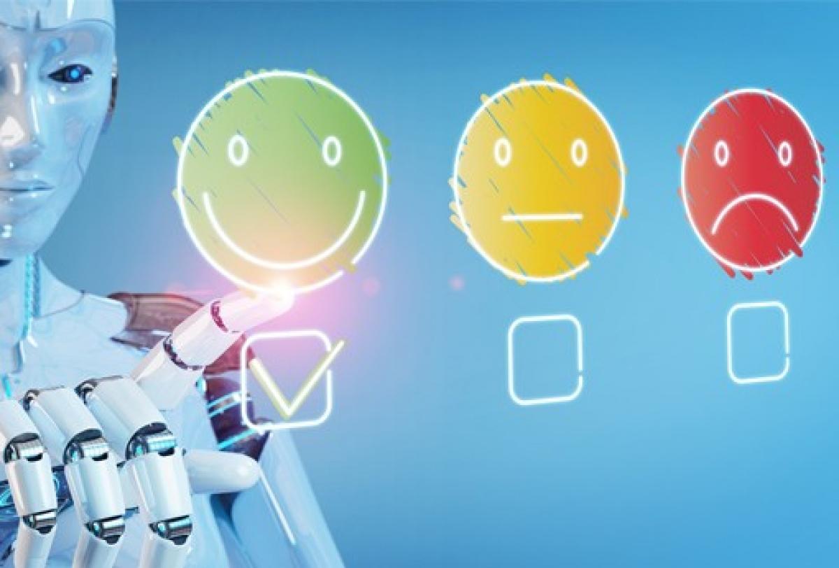 AI giúp cho khách hàng hài lòng hơn với dịch vụ và cách làm việc của doanh nghiệp. Ảnh: codeburst.io