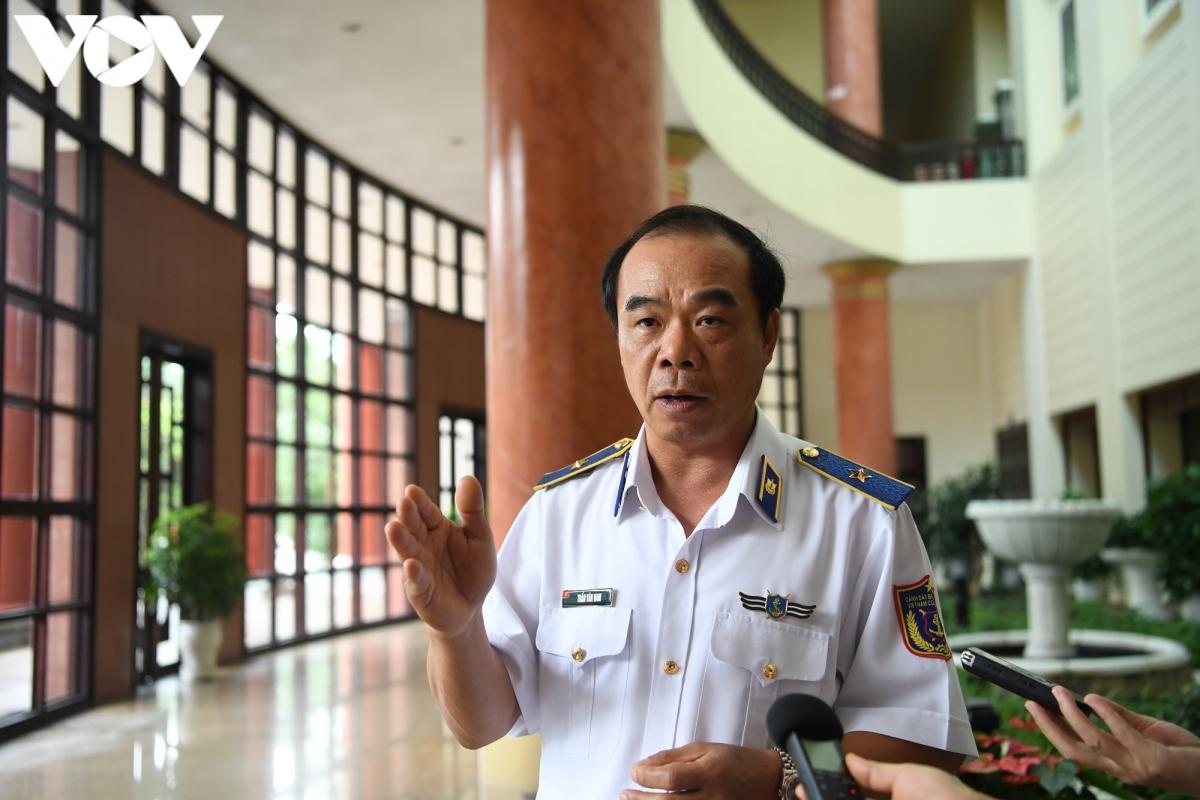 Thiếu tướng Vũ Cương Quyết - Phó Tư lệnh Cảnh sát biển Việt Nam. (Ảnh: Trọng Phú)