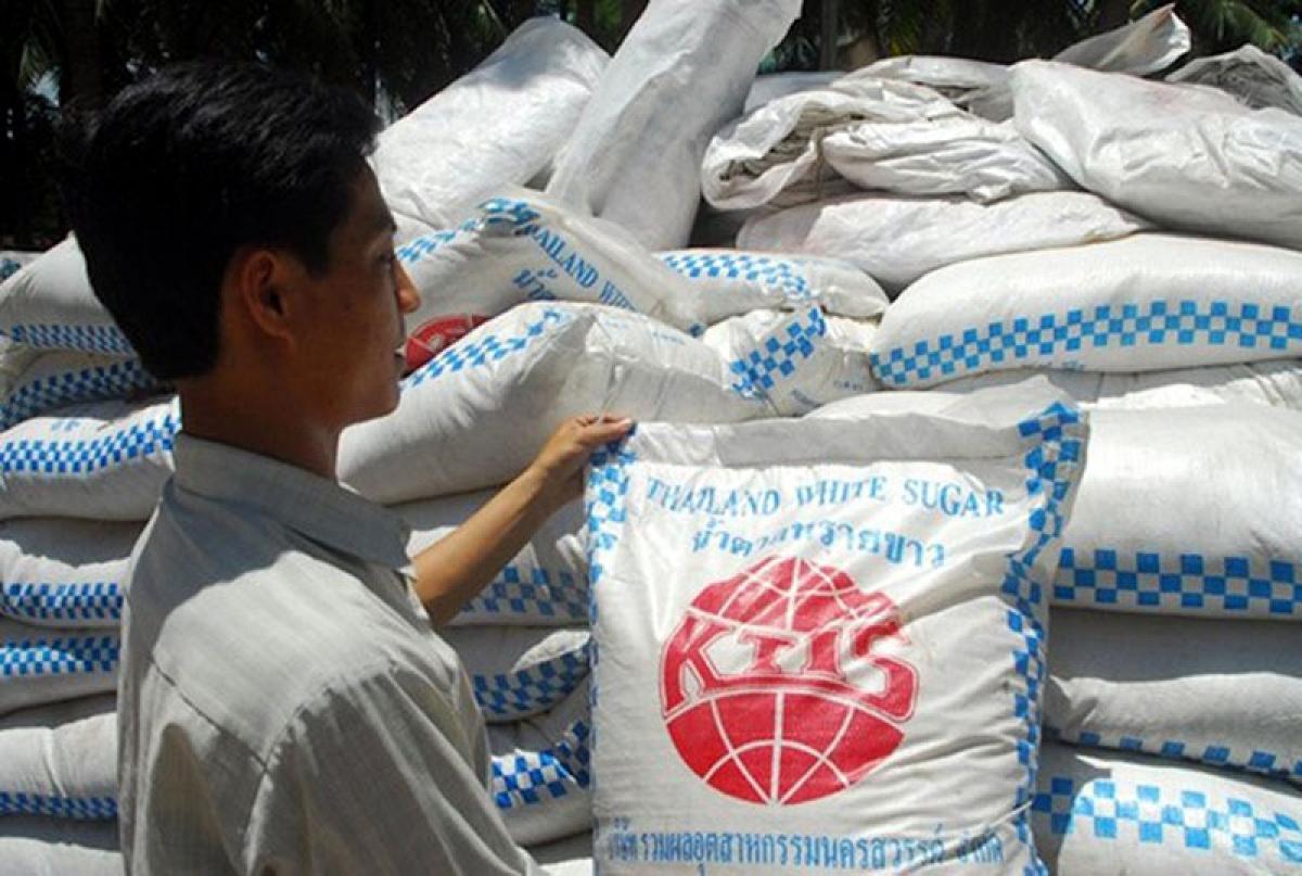 Lượng đường mía nhập khẩu từ Thái Lan vào Việt Nam đạt gần 860.000 tấn trong 8 tháng năm 2020. (Ảnh: Vinanet)