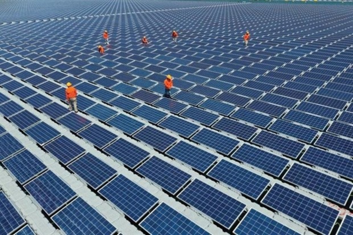 A project of rooftop solar power in Ho Chi Minh City