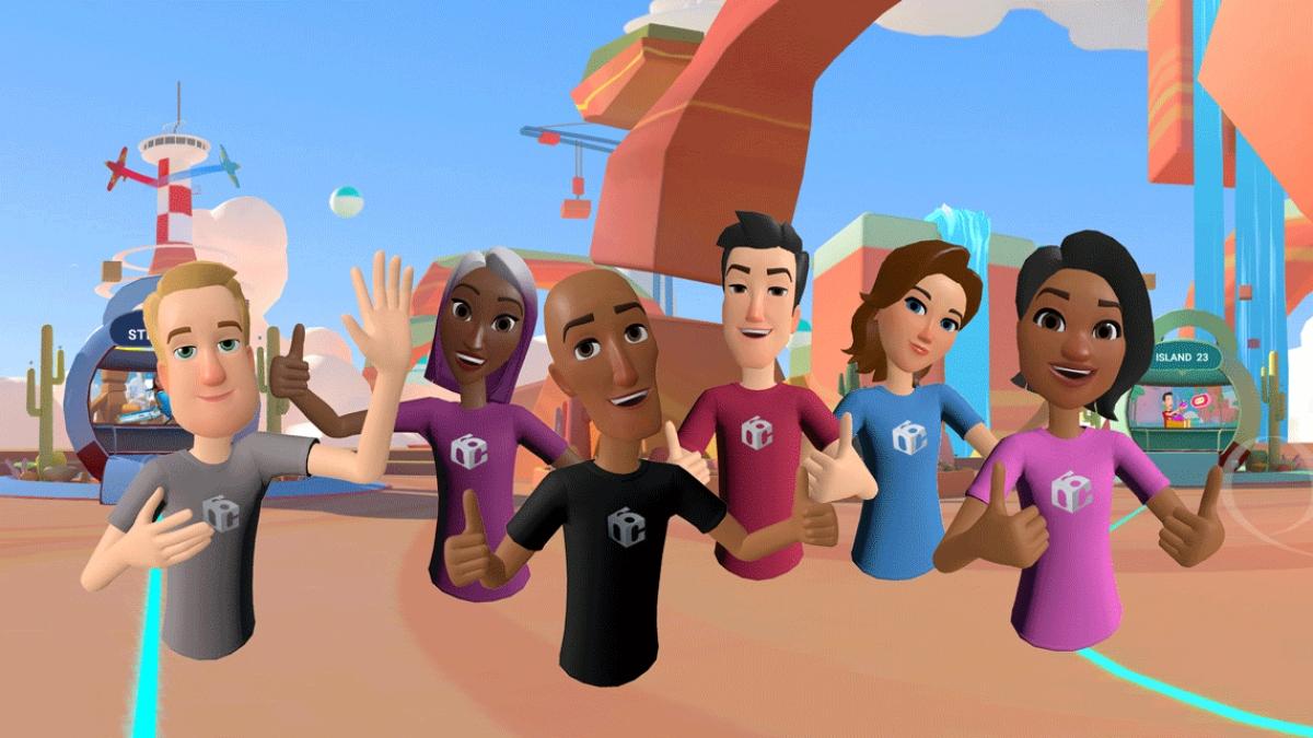 Những công dân số của Horizon như cảnh sát, hàng xóm...nhằm trợ giúp người dùng xây dựng thế giới ảo riêng của họ (Ảnh: Facebook)