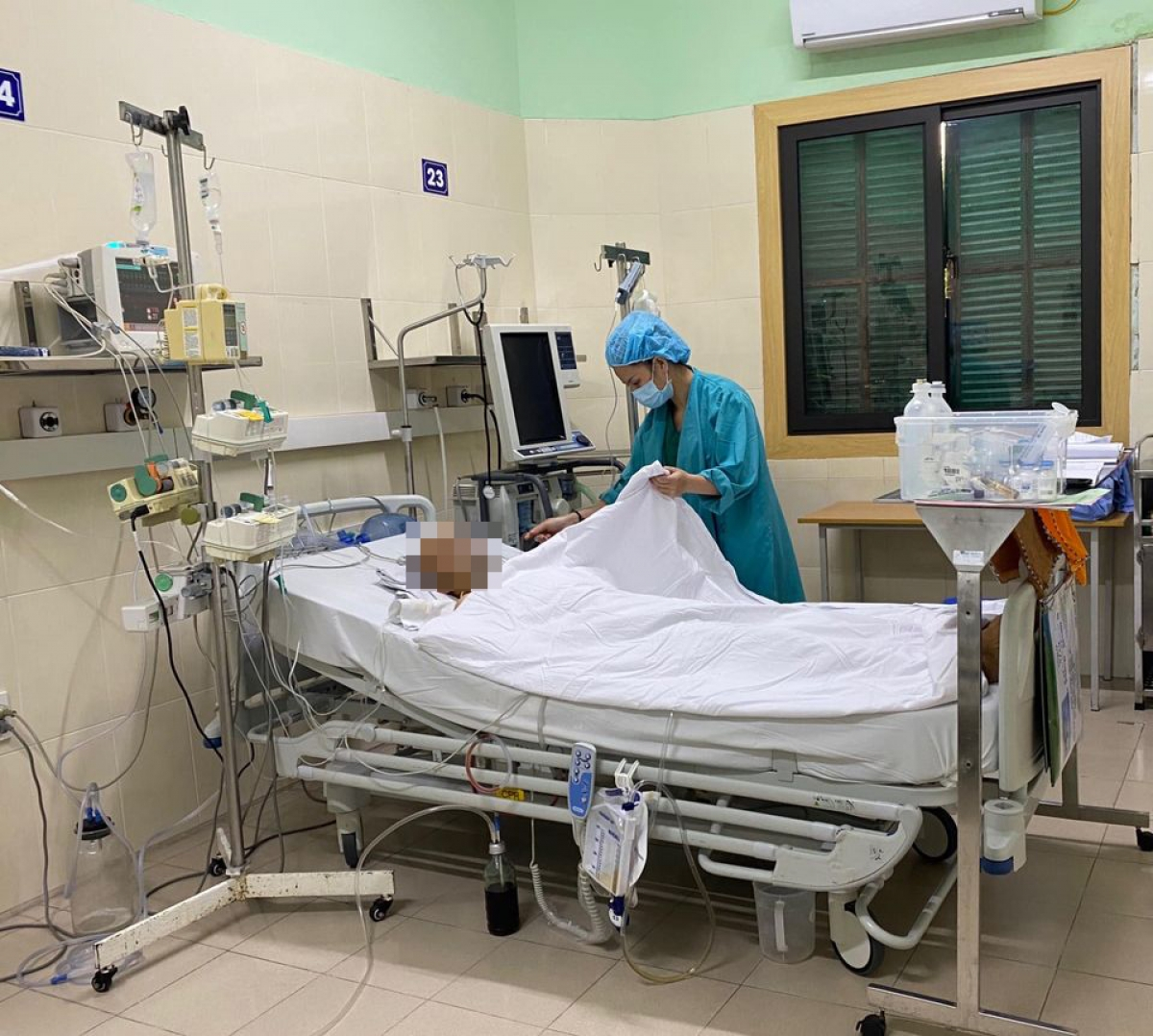Sức khỏe của bệnh nhân được ghép tạng dần hồi phục. (Ảnh: BVCC)