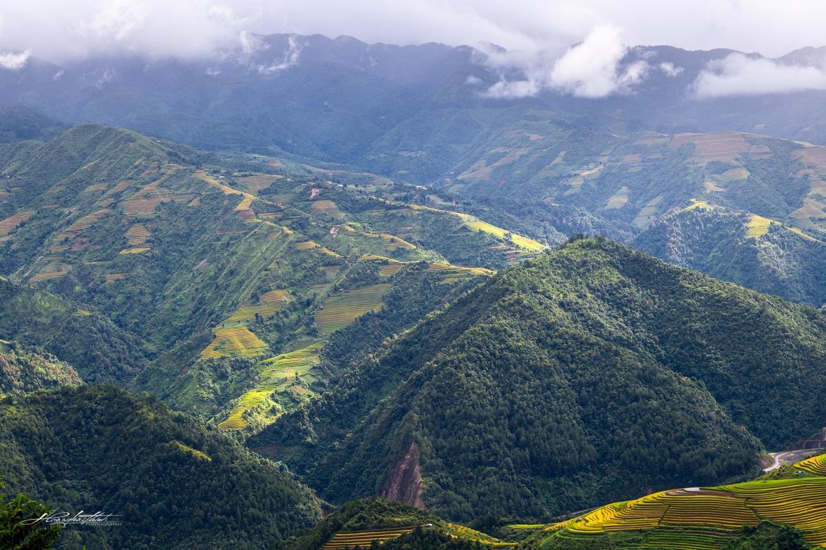 Du khách có thể tham quan các địa điểm nổi tiếng như đèo Khau Phạ, xã Tú Lệ...