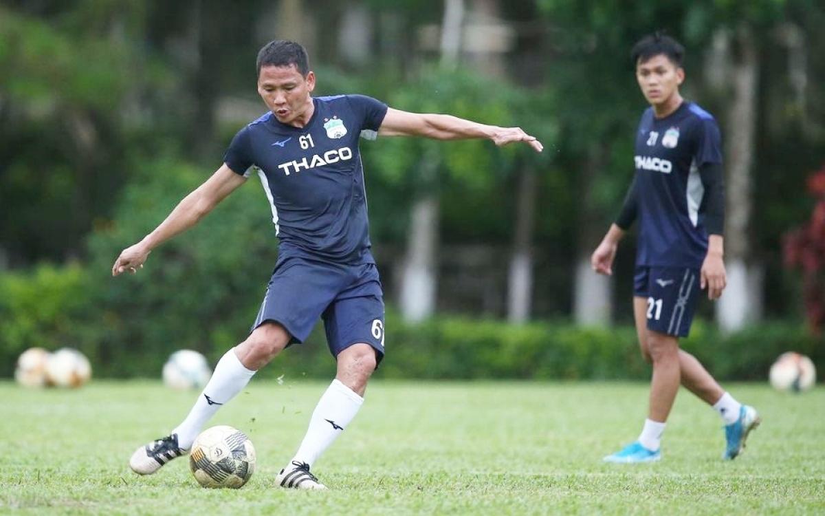 HAGL đá giao hữu 2 trận với Quảng Nam để chuẩn bị cho V-League 2020 trở lại (Ảnh: HAGL).