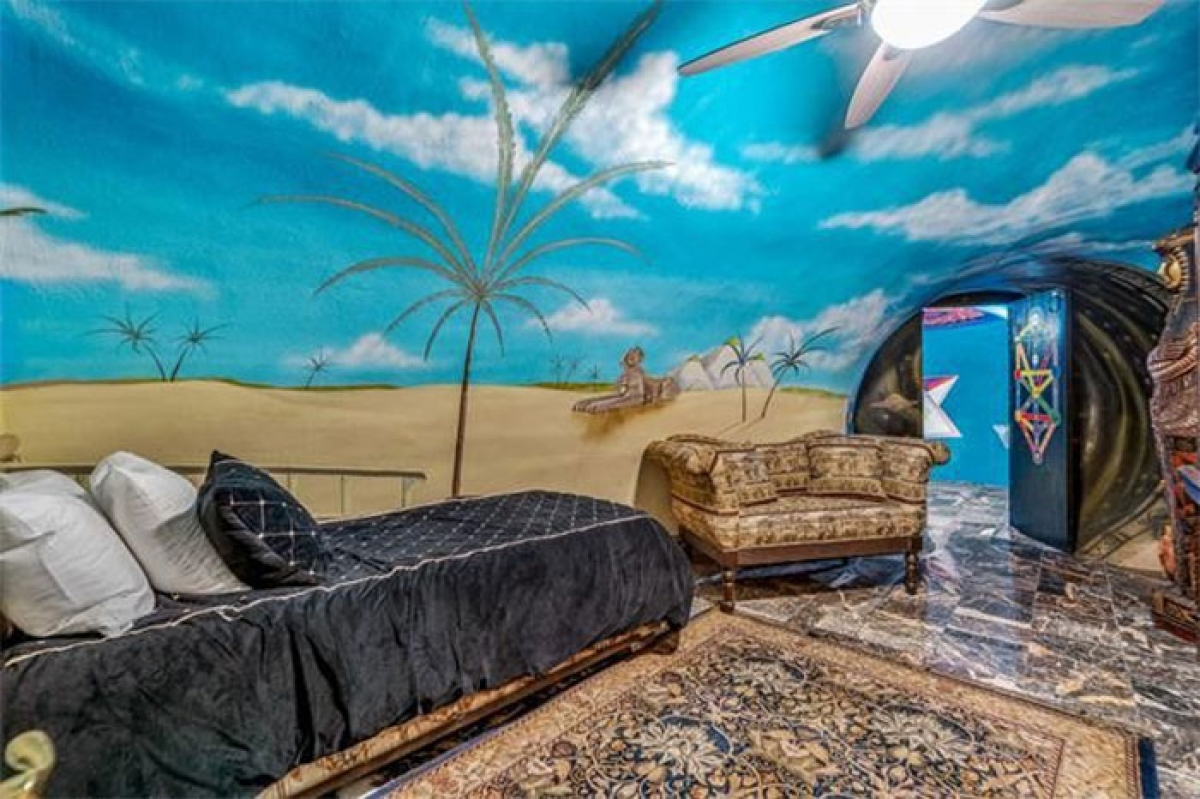 Phòng theo chủ đề nhiệt đới.
