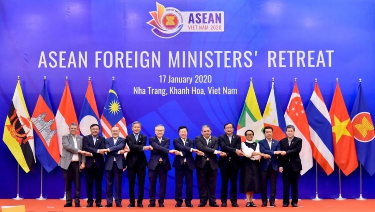 Hội nghị hẹp Bộ trưởng Ngoại giao ASEAN tháng 1/2020 tại Khánh Hòa.