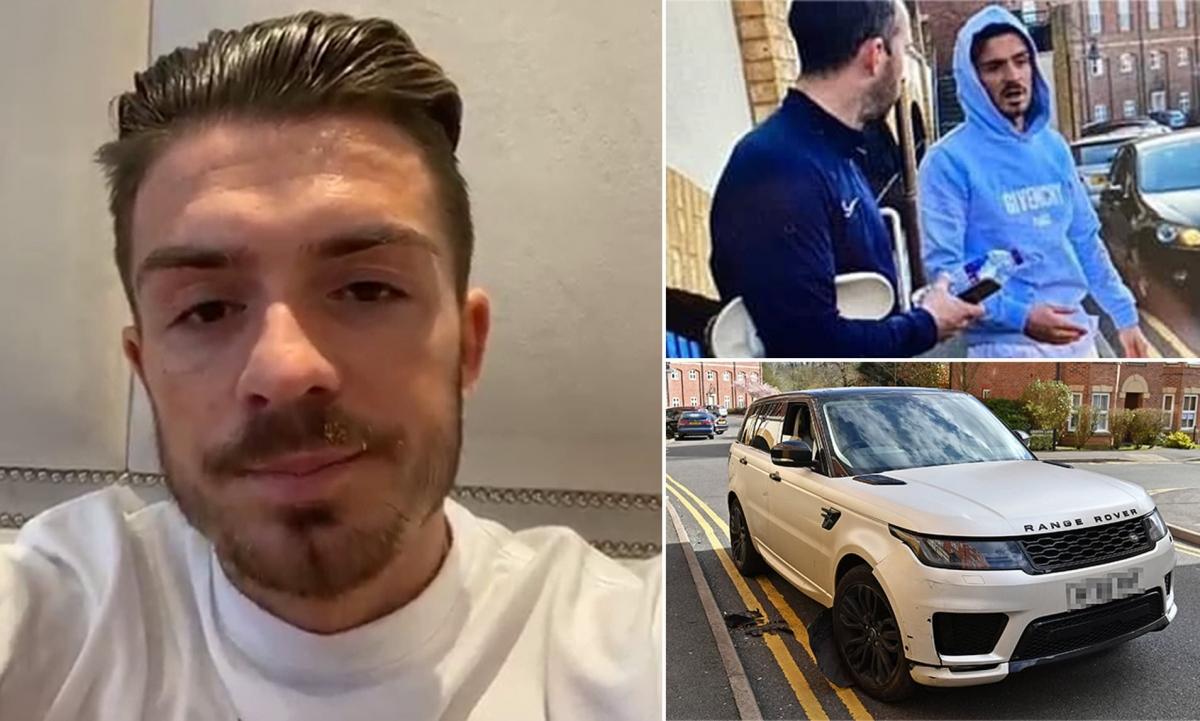 Jack Grealish và vụ tai nạn xe hơi lật tẩy trò hề gian dối. (Ảnh: Daily Mail).
