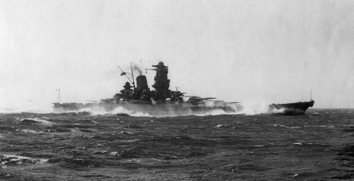 Chiến hạm Yamato của Nhật Bản. Ảnh: Wikipedia