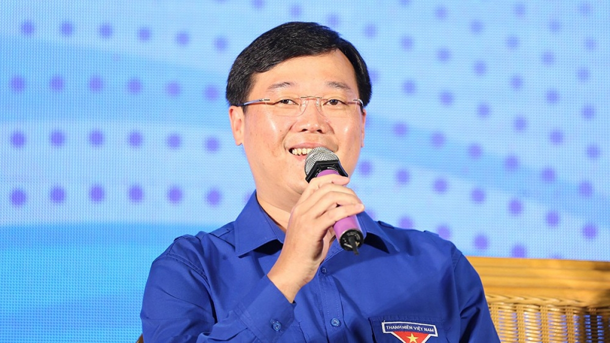 Ông Lê Quốc Phong, Bí thư thứ nhất Trung ương Đoàn TNCSHCM. Ảnh: Tienphong